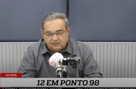 Prefeito reeleito, Álvaro dias fala com exclusividade ao 12 em Ponto 98