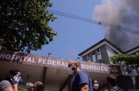 Polícia Federal ouve três brigadistas sobre incêndio no Hospital de Bonsucesso