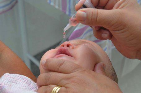 Campanha da Poliomielite é prorrogada até 16 de dezembro