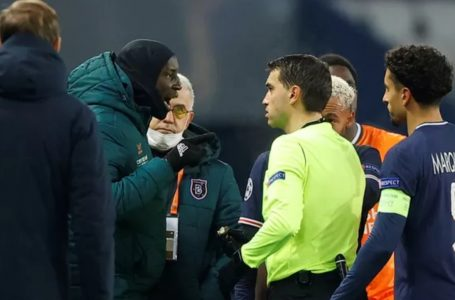 Racismo em PSG x Basaksehir leva a protestos e partida adiada na Champions League