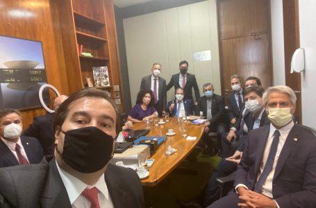 PT, PCdoB, PSB e PDT se unem a Rodrigo Maia na disputa pela presidência da Câmara