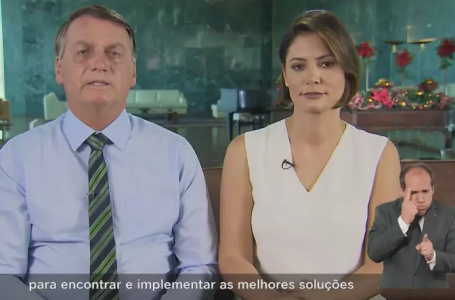 O Brasil é referência para outros países no combate à pandemia, diz Bolsonaro