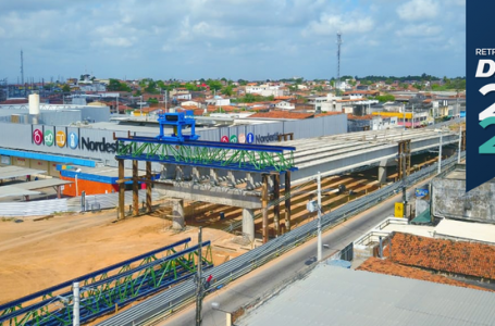 Apesar de estar com 90% de conclusão, obra do Complexo Viário do Gancho de Igapó será entregue em 2022