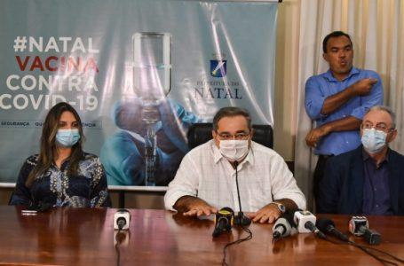 Prefeitura de Natal anuncia plano de vacinação por drive-thru