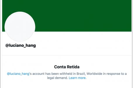 Luciano Hang tem conta do Twitter suspensa pela 2ª vez