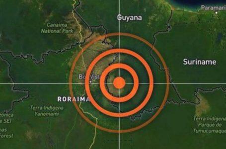 Terremoto na Guiana é sentido em Roraima e no Amazonas