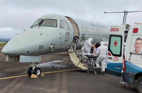 FAB inicia transporte de pacientes de Manaus (AM) para outras cidades