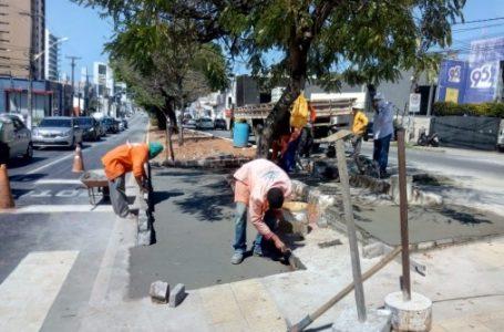STTU faz ajustes e implanta novas faixas de pedestre na Av. Hermes da Fonseca