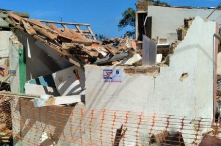 Defesa civil reavalia imóveis em área de desabamento em Mãe Luiza