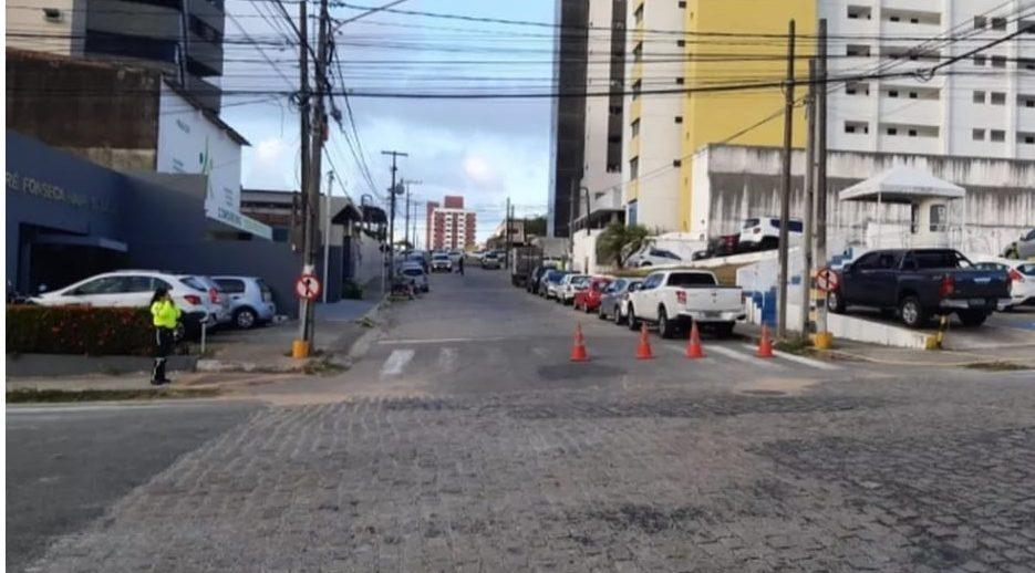 STTU faz alteração no trânsito do trecho entre a Nascimento de Castro e Almeida Barreto