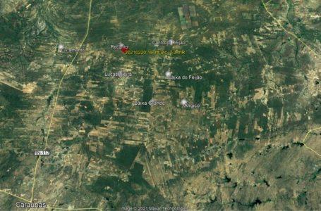 Cidade do RN registra vários tremores de terra no final de semana