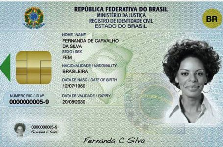 Prazo para adoção da nova carteira de identidade é adiado pelo Governo Federal