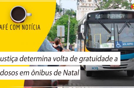 Justiça determina volta de gratuidade a idosos em ônibus de Natal