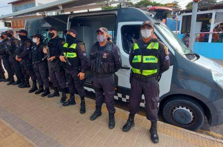 Forças de segurança do estado começam a fiscalizar toque de recolher
