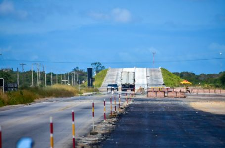 DNIT libera os 3 primeiros quilômetros da Reta Tabajara