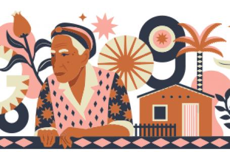 Doodle do Google homenageia Dona Militana, a maior romanceira do Brasil