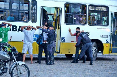 Assaltos a ônibus tem redução de 68,75% em Natal