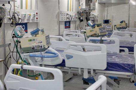 17 estados e DF operam com 80% da capacidade dos leitos ocupados