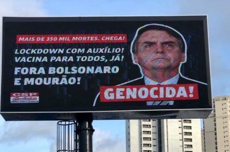 Deputado federal denuncia outdoor contra Bolsonaro em Natal