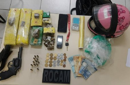 Polícia prende casal suspeito de tráfico de drogas em Nossa Senhora da Apresentação