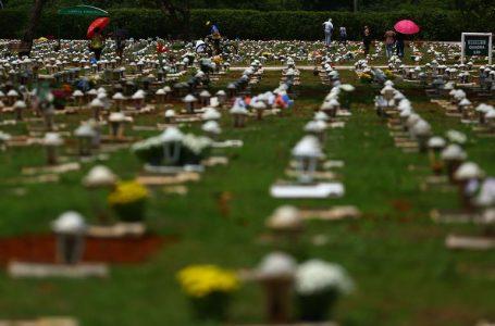 Covid-19: Brasil tem 13,3 milhões de casos e 348,7 mil mortes