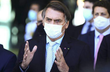 CPI da Covid: 'Falta coragem moral para o Barroso', diz Bolsonaro