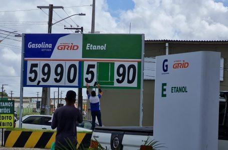 Natal amanhece com gasolina comum a R$ 5,99 nos postos; ENTENDA O MOTIVO