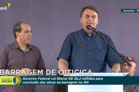 No RN, Bolsonaro libera verba para Oiticica e nega corrupção na compra da Covaxin