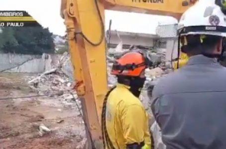 Desabamento de imóvel faz duas vítimas na zona sul de São Paulo
