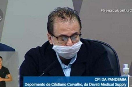 [AO VIVO] CPI ouve Cristiano Carvalho por suspeita de propina na compra da AstraZeneca