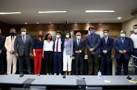 Pedro Gorki toma posse na Câmara como o mais jovem vereador da atual legislatura