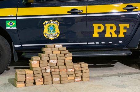Droga apreendida em caminhonete no interior do RN é avaliada em R$ 10 milhões