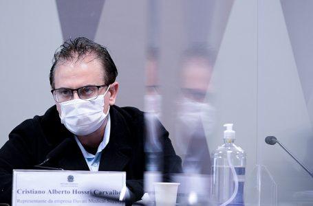 Representante da Davati diz que Dias o procurou para tratar de vacina