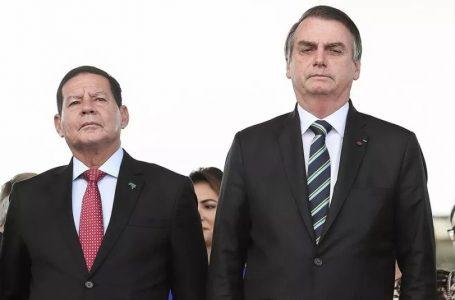 """""""Vice bom é aquele que não aparece"""", afirma Bolsonaro a apoiadores"""