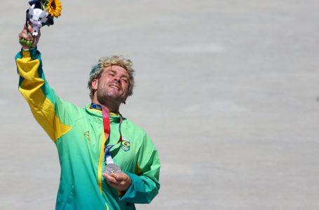 Brasil brilhou no skate na noite do décimo quarto dia de Olimpíada
