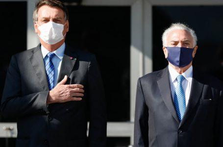 Avião da FAB para Temer e ligações para Moraes: os bastidores do manifesto de Bolsonaro