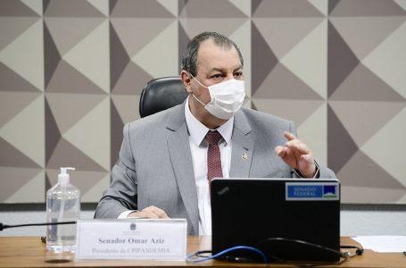 Aziz a Marconny: 'Pra pedir fechamento do STF é tudo macho, na CPI afina'; VÍDEO
