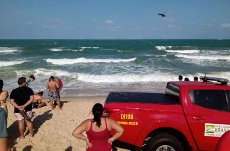 Adolescente segue desaparecida 24 horas após afogamento na Praia da Redinha; bombeiros fazem buscas