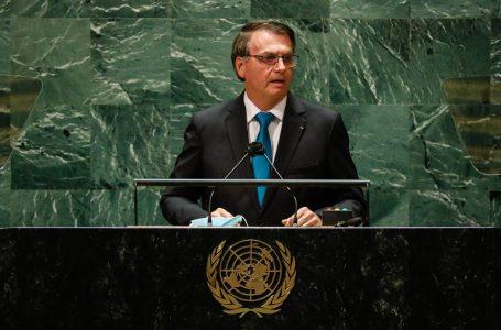 Na ONU, Bolsonaro faz discurso para a base, cita 'risco de socialismo' e defende tratamento precoce