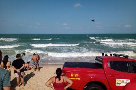 Banhistas se afogam na praia da Redinha; dois morrem e uma adolescete segue desaparecida