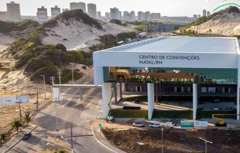 Centro de convenções fica com agenda lotada após liberação de eventos em Natal - Foto: Reprodução/Site Centro de convenções